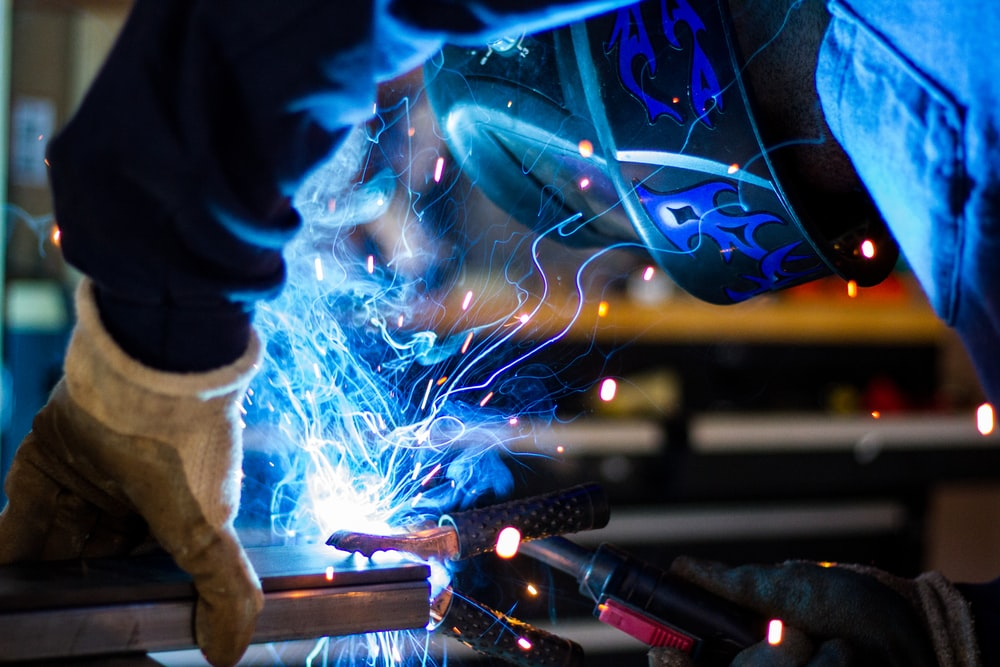 Safely Welding in a Manufacturing
